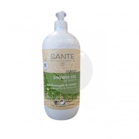 Gel De ducha organico Limon Piña Sante