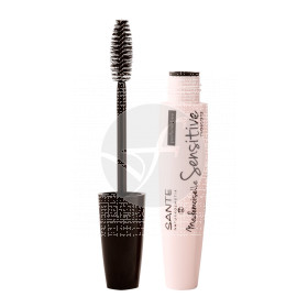 Mascaras De Pestañas Sensitive 01 Black Bio Vegano Sante