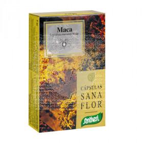 Maca capsulas Sanaflor Santiveri