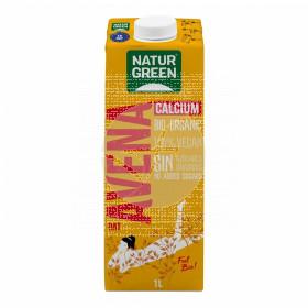 Bebida Vegetal De Avena con Calcio Bio 1L NaturGreen