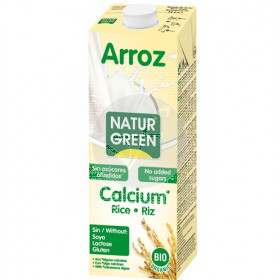 Bebida Vegetal De Arroz On Calcio Eco 1L NaturGreen
