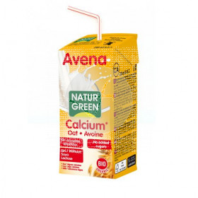 Bebida vegetal de avena calcio bio 200ml Natur Green