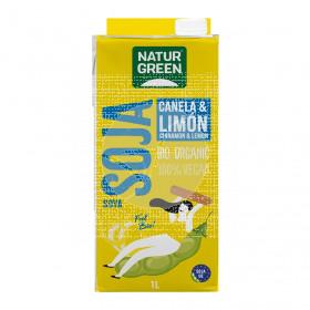 Bebida Vegetal De Soja Canela Limon Bio NaturGreen