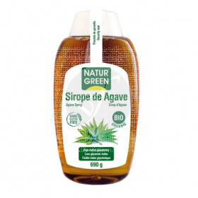 SIROPE AGAVE BIOLOGICO 500ML NATUR GREEN