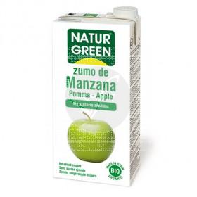 ZUMO DE MANZANA BIO 1L NATURGREEN