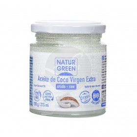 Aceite de coco virgen extra bio 215ml Natur-Green