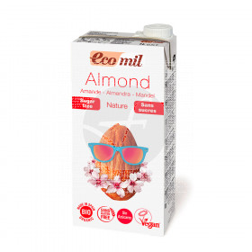 Bebida vegetal de almendra sin azúcar Bio Ecomil