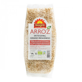 Arroz Redondo integral Bio 500Gr Biogra