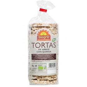 TORTAS DE ARROZ CON QUINOA BIO BIOGRA
