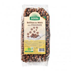 Bolitas De Maíz con Chocolate Bio 250Gr Biogra