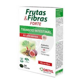Frutas y Fibras Forte Tránsito Intestinal Acción Rápida Ortis