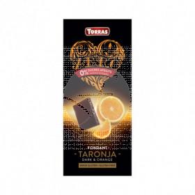 Chocolate Negro con Naranja Zero Torras
