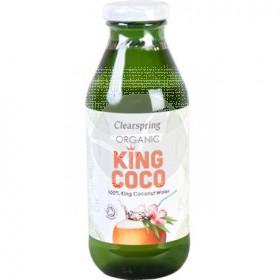 Agua de coco orgánica Clearspring
