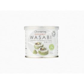 Wasabi polvo lata orgánico Clearspring