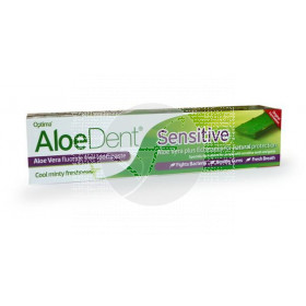 Dentífrico Aloedent Sensitive sensibilidad Optima