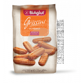 Grissini palitos clasicos de pan sin gluten 150Gr Bi Aglut