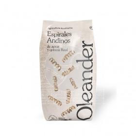Espirales andinos de arroz y quinoa Oleander