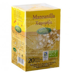 Manzanilla Infusion Bio 20U A Artemis