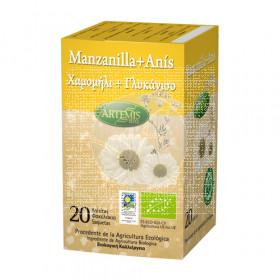 MANZANILLA CON ANIS 20 INFUSIONES ARTEMIS