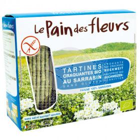 Tostadas de trigo sarraceno sin sal Le Pain Des Fleurs