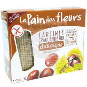 Tostadas De Pan De Castañas Sin Gluten 150gr Le Pain Des Fleurs