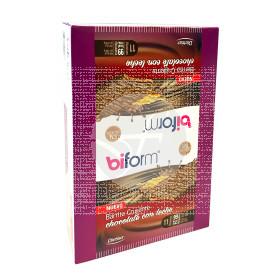 Barritas Crujientes Chocolate con Leche sin gluten Biform Dietisa