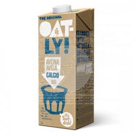 LECHE DE AVENA CON CALCIO BIOLOGICA 1L OATLY