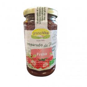 Mermelada de Fresa Bio sin gluten 240Gr Granovita
