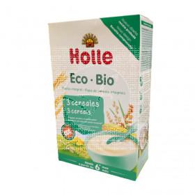 Papilla Infantil 3 Cereales Biologica 250Gr Holle