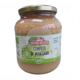 Compota de Manzana 700Gr Bio Natursoy