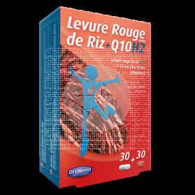 Levadura Arroz Rojo + Q10 Bio capsulas Orthonat