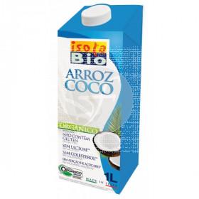 Bebida vegetal de arroz y coco biológica 1l Isola Bio