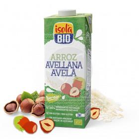 Bebida Vegetal Arroz y Avellana 1L Isola Bio
