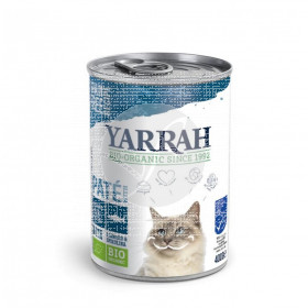 Paté de Pescado para Gatos Lata 400Gr Yarrah