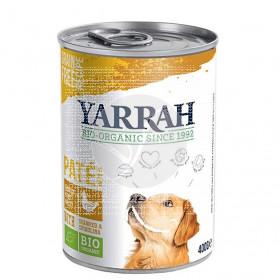 Paté de Pollo para Perros Lata 400Gr Bio Yarrah