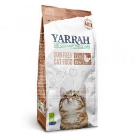 Pienso De Pescado y Pollo sin Cereales Para Gatos 2,4Kg Yarrah