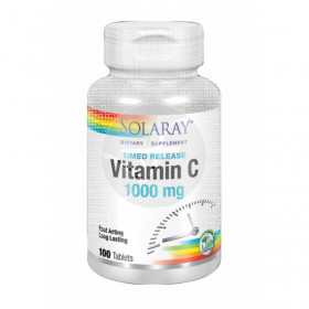 Vitamina C 1000mg 100 comprimidos Solaray