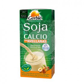 Bebida Vegetal Soja Avellana Calcio 1L Gerble