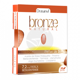 BRONZE NATURAL 30 PERLAS DRASANVI