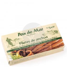 Filetes De Anchoas En Aceite De Oliva Pan Do Mar