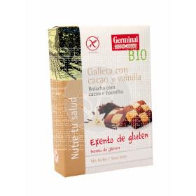 Galletas sin gluten de cacao con vainilla bio Germinal