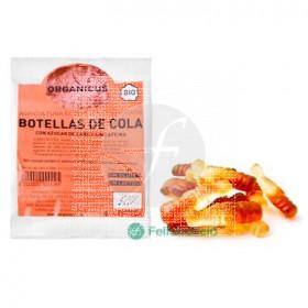 Golosinas botellas De Cola Bio sin gluten Organicus
