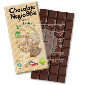 CHOCOLATE NEGRO 86 ECO CHOCOLATES SOLE