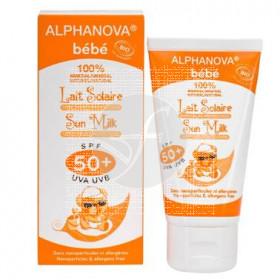 Crema Solar Bebe Spf50 Bio Alphanova