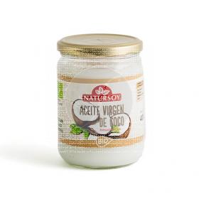Aceite De Coco Virgen Natursoy