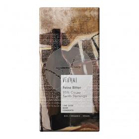 Chocolate Negro 85% Cacao con Azúcar integral Vivani