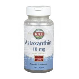 ASTAXANTHIN 10 MG 60 CAPSULAS KAL