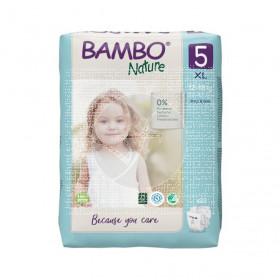 Pañales Talla 5 Junior 12-18Kg Eco Bambo