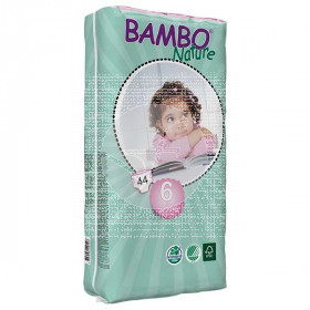 Pañales talla plus 16-30kg eco Bamboo