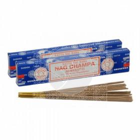 Incienso Nag Champa Original Azul Satya